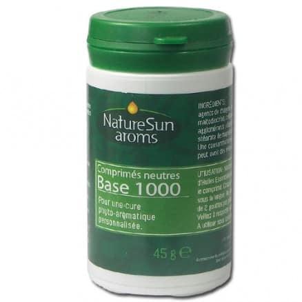 Comprimés neutres pour cure phyto-aromatique