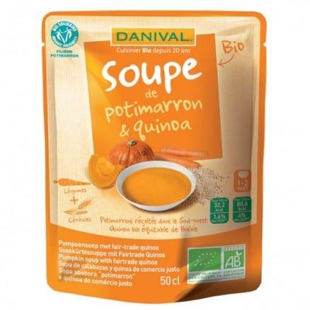 Soupe au Potimarron & Quinoa