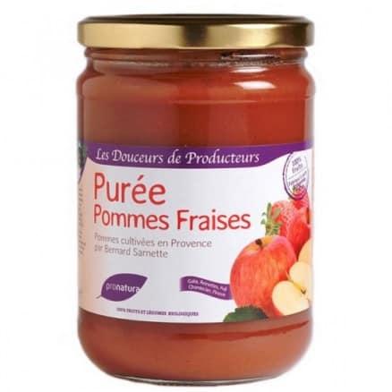 Purée de Pommes Fraises