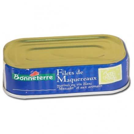 Filets de Maquereaux Matinés Vin Blanc Muscadet & Aromates