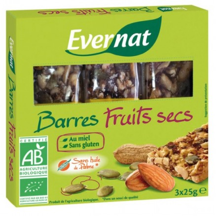 Barres Fruits Secs