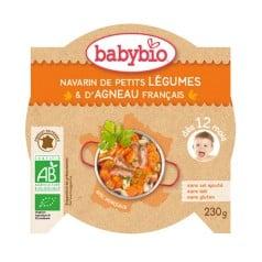 Navarin de Petits Légumes & d'Agneau Français Babybio
