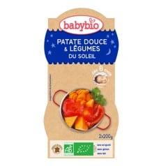Patate Douce & Légumes du Soleil Babybio