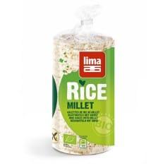 Galettes de riz au Millet bio Lima