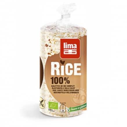 Galettes de riz complet bio lima