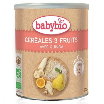 Céréales 3 Fruits Quinoa