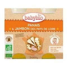 Petit pot Menu Panais & Jambon des Pays de Loire babybio