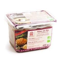 Miso de riz non pasteurisé 400 g