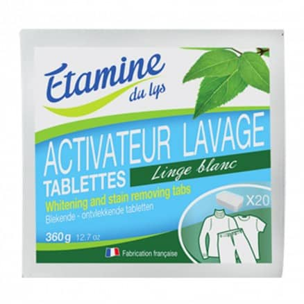 Activateur de lavage 20 tablettes