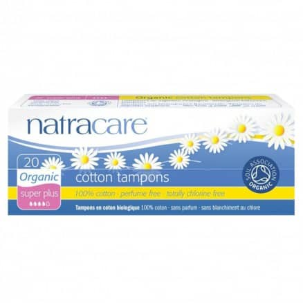 Natracare Tampon sans applicateur super plus