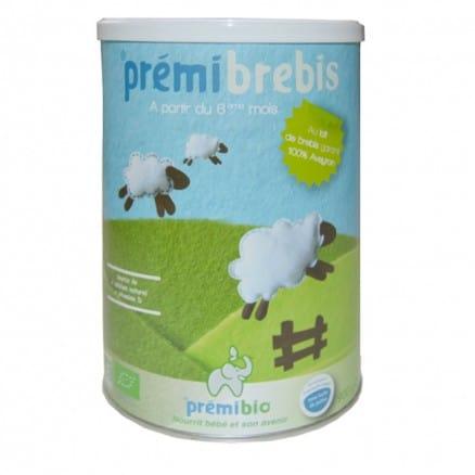 Prémibrebis au lait de brebis à partir de 6ème mois