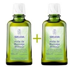 Duo huile de massage minceur