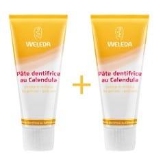 Weleda Duo pâte dentifrice au Calendula