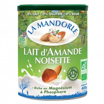 Lait en poudre Amande Noisette