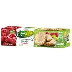 Biscuit framboise sans gluten