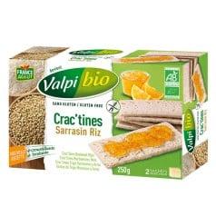 Crac'tine Tartines Sarrasin Riz Sans Gluten