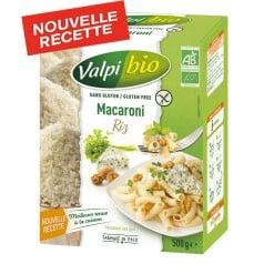 Macaroni de riz bio sans gluten