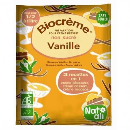 Prépération Biocrème vanille