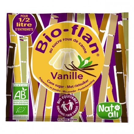 Bioflan Vanille au sucre de canne