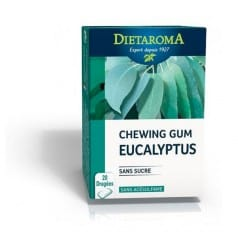 Chewing gum Eucalyptus Dietaroma