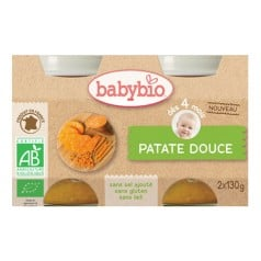 Petit Pot Bébé - Patate Douce 130g X2