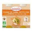 Petit pot Pomme de Terre, Petits Pois & Jambon des Pays de Loire