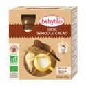 Gourdes Crème Semoule Cacao