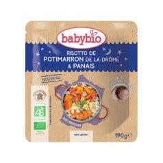 Assiette bébé Risotto de Potimarron de la Drôme & Panais 190g