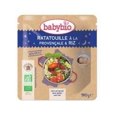 Doypack bébé Ratatouille à la provençale & Riz 190g