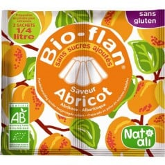 Bioflan abricot sans sucre