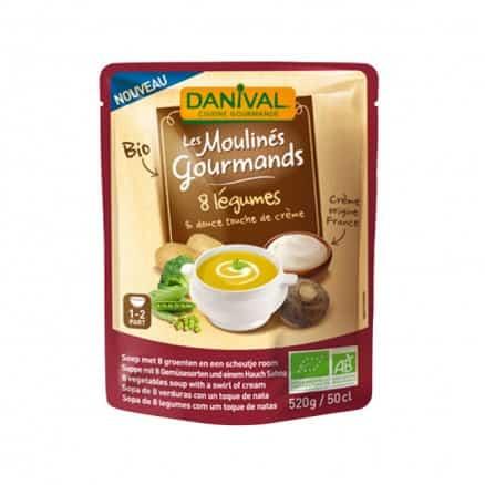 Moulinés Gourmands 8 légumes & Crème 50 cl