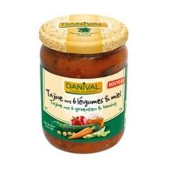 Tajine aux 6 légumes & miel