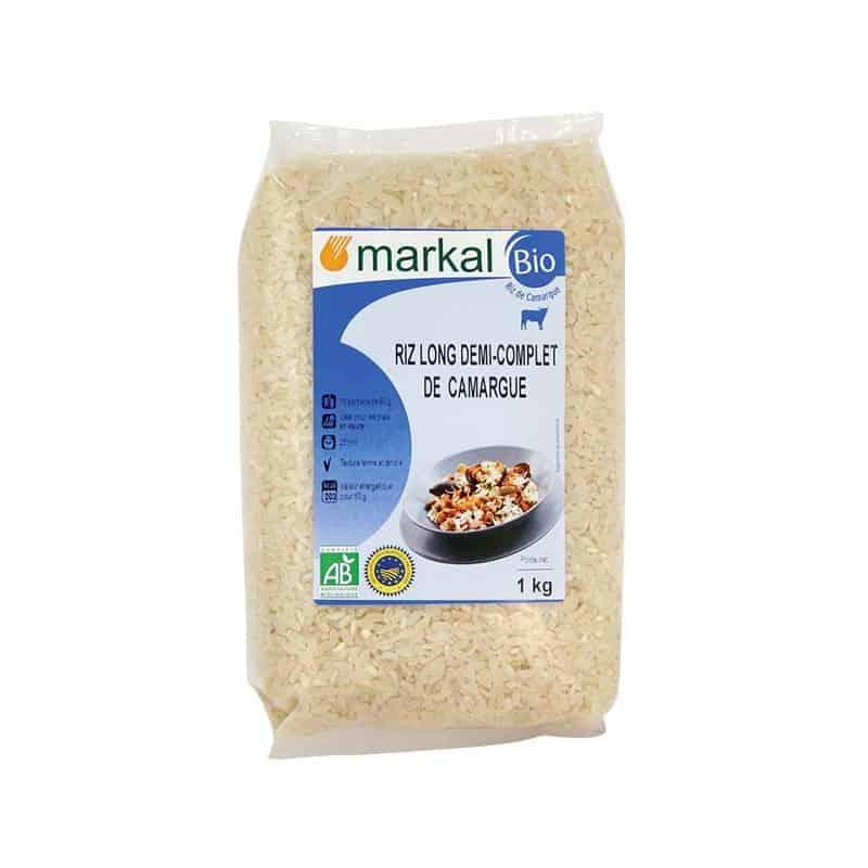 markal  Markal Riz Long Demi-Complet Camargue 1 kg Depuis 2000, le riz... par LeGuide.com Publicité