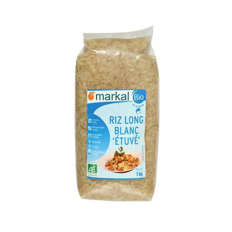 markal  Markal Riz Long Blanc Etuvé 1 kg Le riz long blanc étuvé est un... par LeGuide.com Publicité