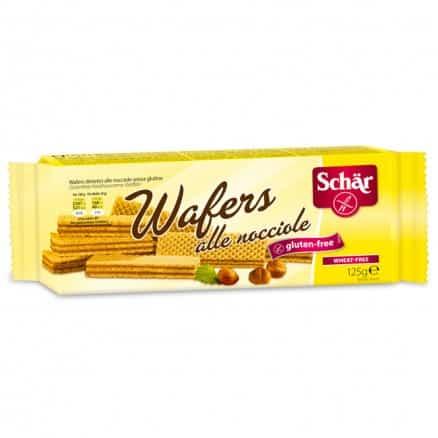 Gaufrettes aux noisettes sans gluten Wafers