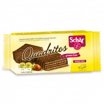 Quadritos sans gluten de schar