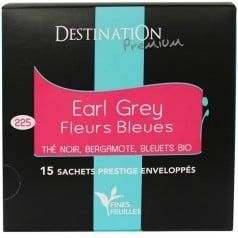 Thé Noir Earl Grey Fleurs Bleues
