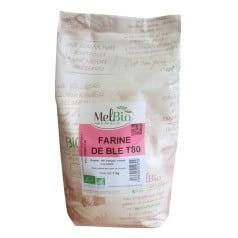 Melbio Farine de blé T80