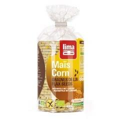 Galettes de maïs graines de lin