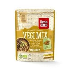 Vegi-Mix Curry, Boulghour et Lentilles