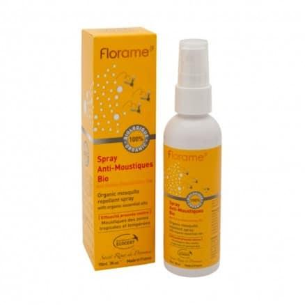 Spray anti moustiques 90 ml florame for Anti moustique naturel maison