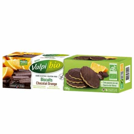 Biscuits Orange Chocolat