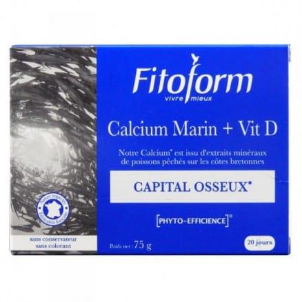 Calcium Marin + Vitamine D Capital Osseux