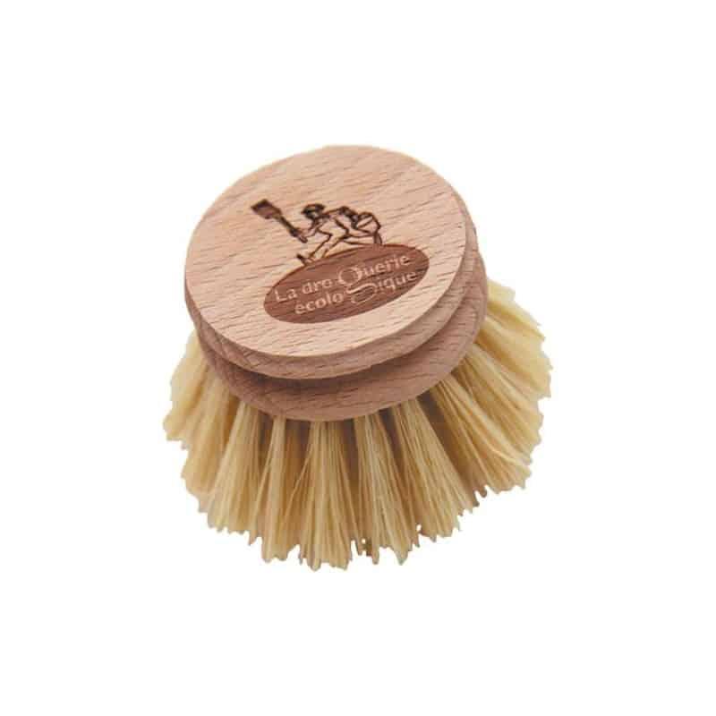 recharge brosse vaisselle en fibre fibres naturelles la droguerie cologique. Black Bedroom Furniture Sets. Home Design Ideas