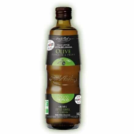 Huile d'olive vierge extra origine France