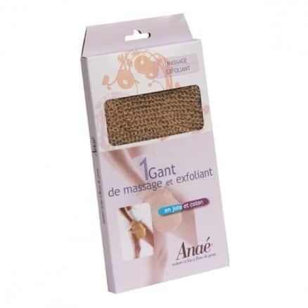 Gant de Massage en Jute & Coton