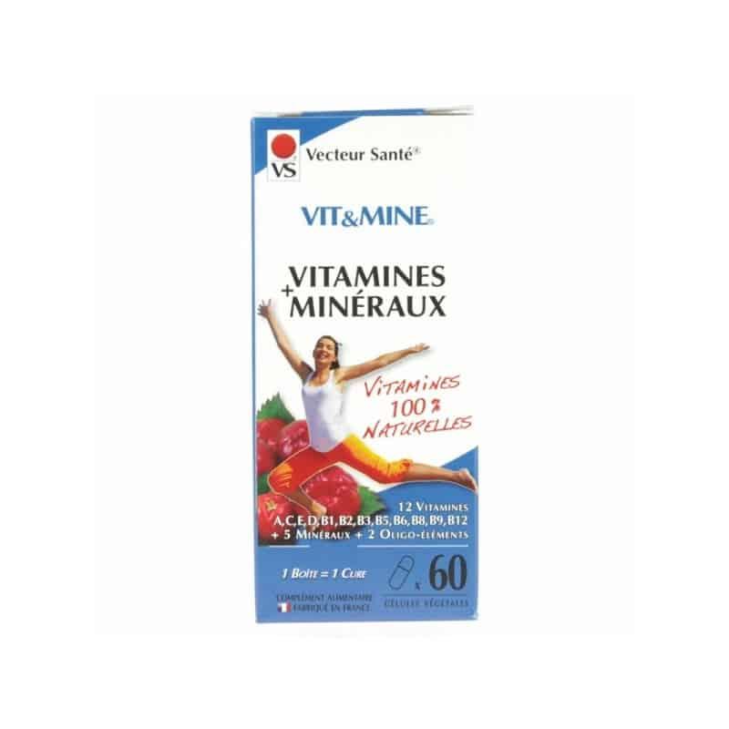 vecteur sante  Vecteur Santé Vit & Mine Vitamines & Minéraux x60... par LeGuide.com Publicité