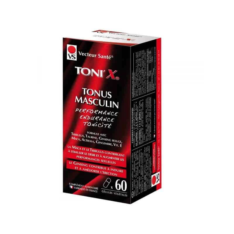vecteur sante  Vecteur Santé Toni'x Tonus Masculin x60 Formule avec... par LeGuide.com Publicité
