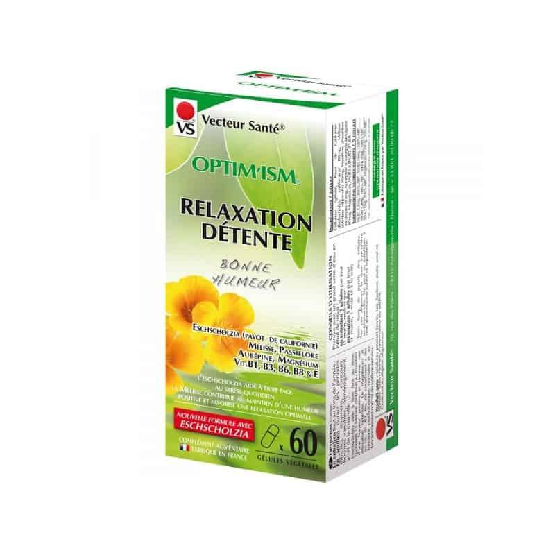 vecteur sante  Vecteur Santé Optim'ism Relaxation Détente x60  par LeGuide.com Publicité