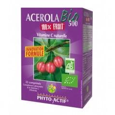 Acérola Bio 500 100% Fruit